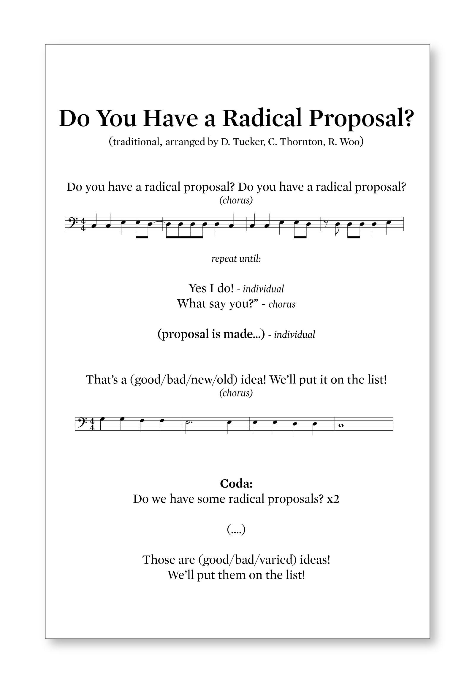 radicalproposal
